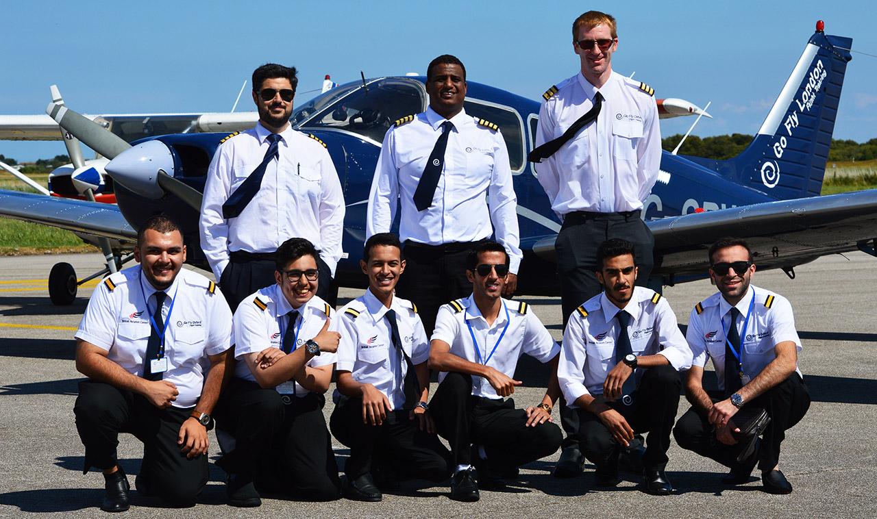 International flight students