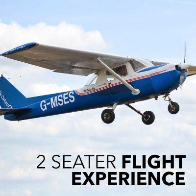 2 seater flight experience
