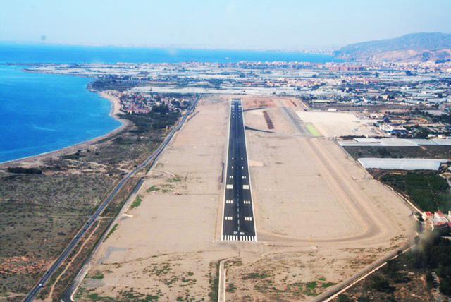 Almeria airport, Spain