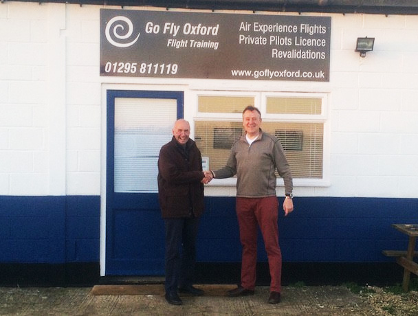 Well done Jason on passing his EASA Private Pilots License