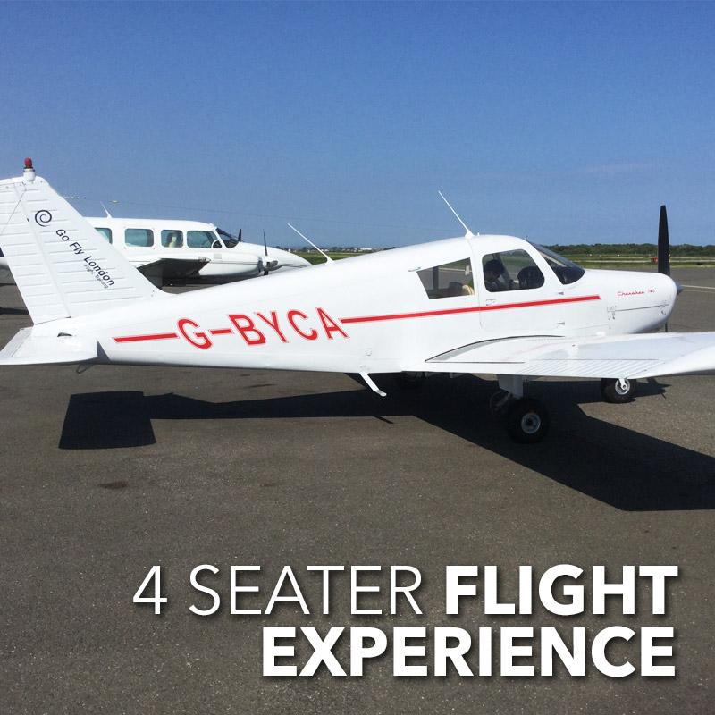 4 seater plane flight experience