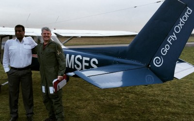 Yanto Evans' Solo Qualifying Cross Country