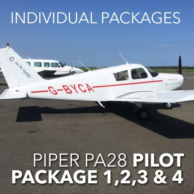 Individual Piper PA28 pilot package 1 2 3 or 4